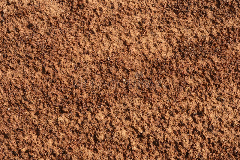 Brown ground surface. royalty free stock photography