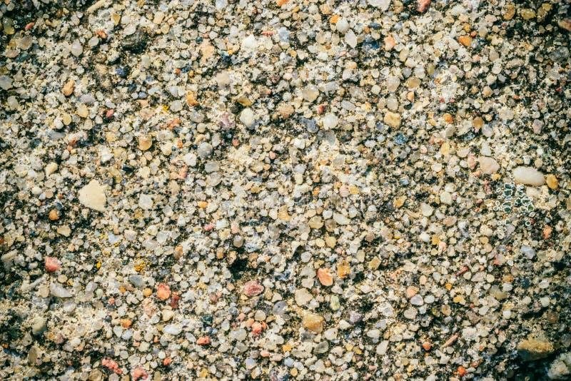 Brown grunge ściany kamienia tło lub tekstury natury skała zdjęcie stock