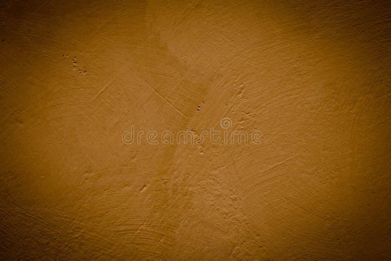 Brown grunge textured ściana obraz royalty free