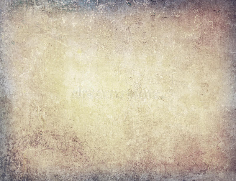 Brown grungy wall stock illustration