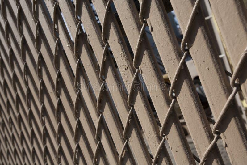 Brown-hölzerner Zaun stockbilder