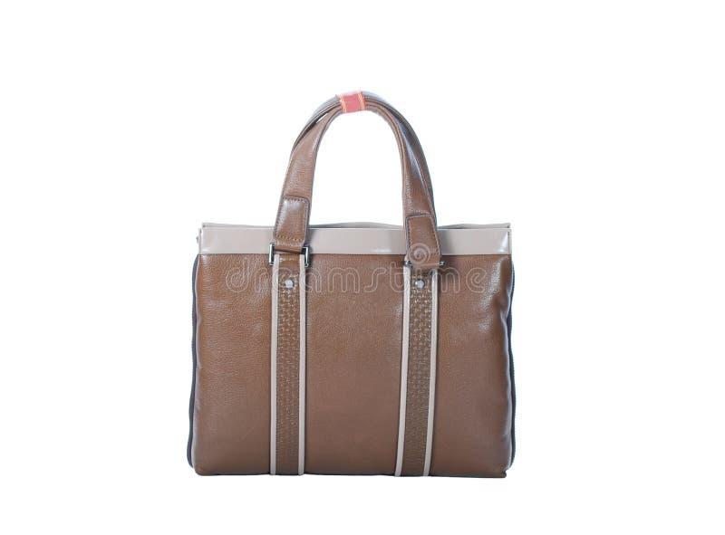 Brown handbag stock image