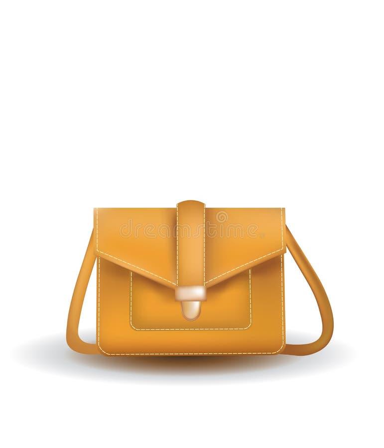 Brown-Handtasche vektor abbildung