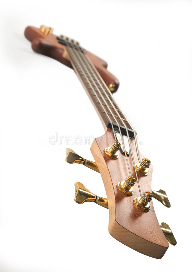 Download Brown Headstock Bass Guitar Stock Photo - Image: 13271384