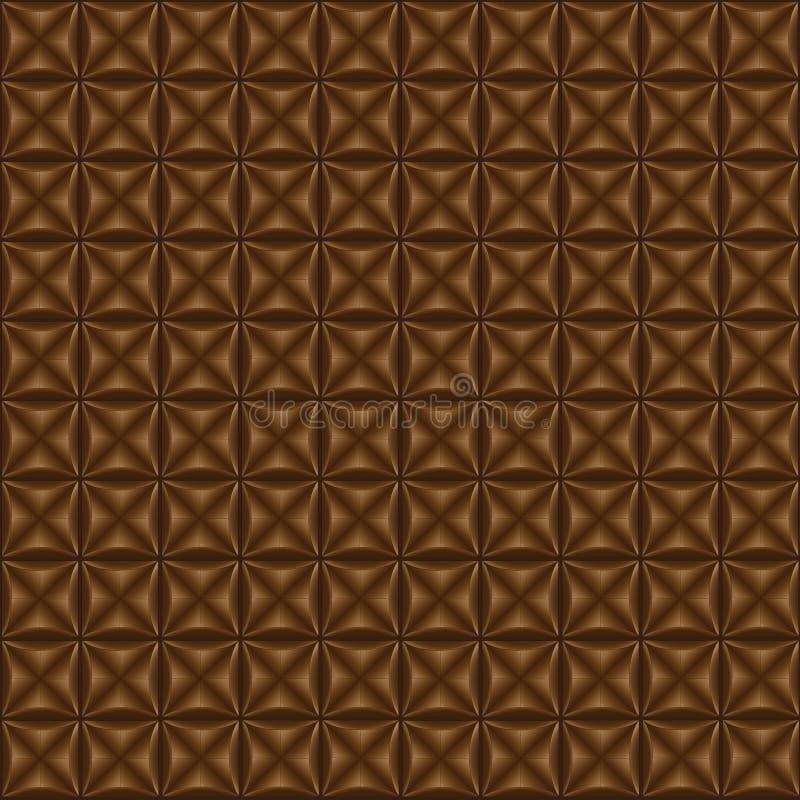 Brown-Hintergrund, Schokoladenfarbe stockbild