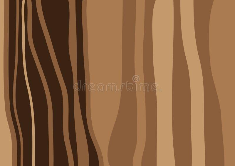 Brown-Holzbeschaffenheit stock abbildung