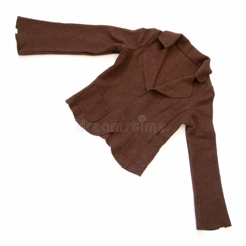 Brown-Jacke lizenzfreie stockfotografie