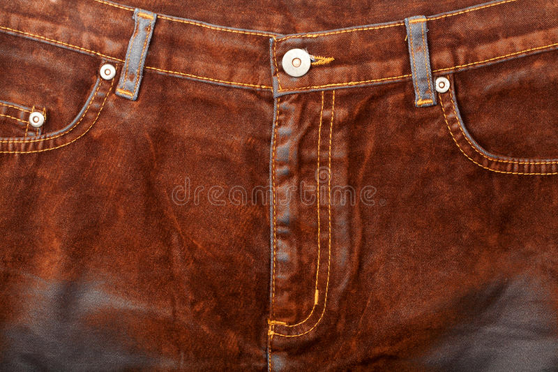 Download Brown Jeans Front Royalty Free Stock Photo - Image: 22850515