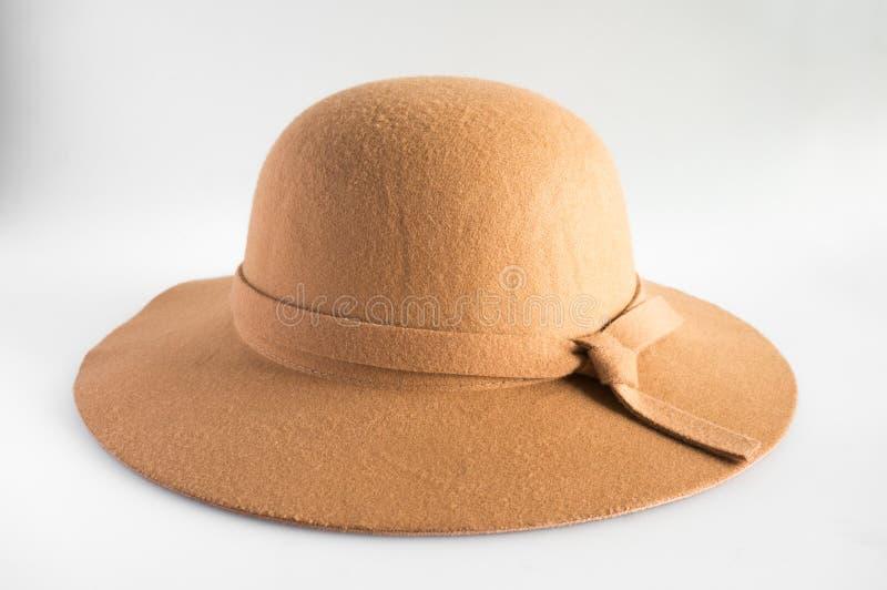 Brown kapelusz obraz royalty free