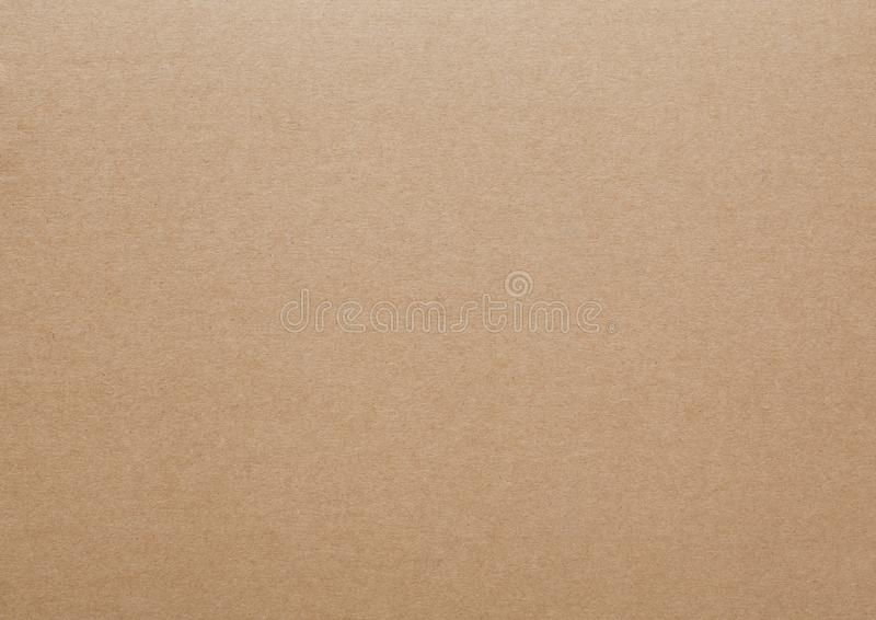 Brown kartonu prześcieradła abstrakcjonistyczna tekstura lub tło obrazy stock