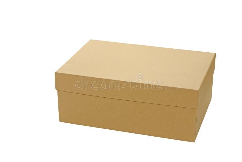 Brown-Kasten lizenzfreies stockfoto