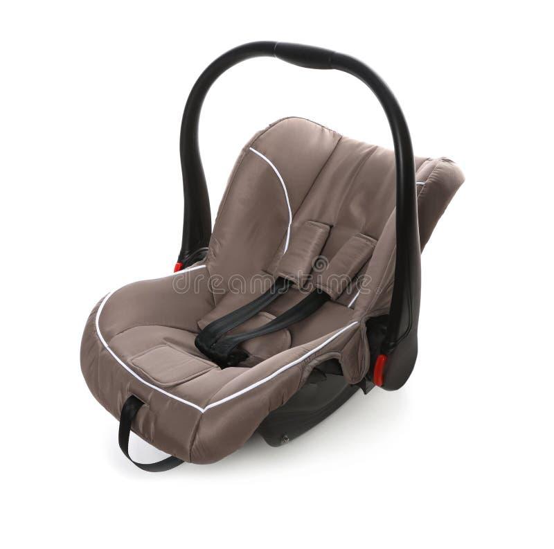 Brown-Kindersitz stockbild