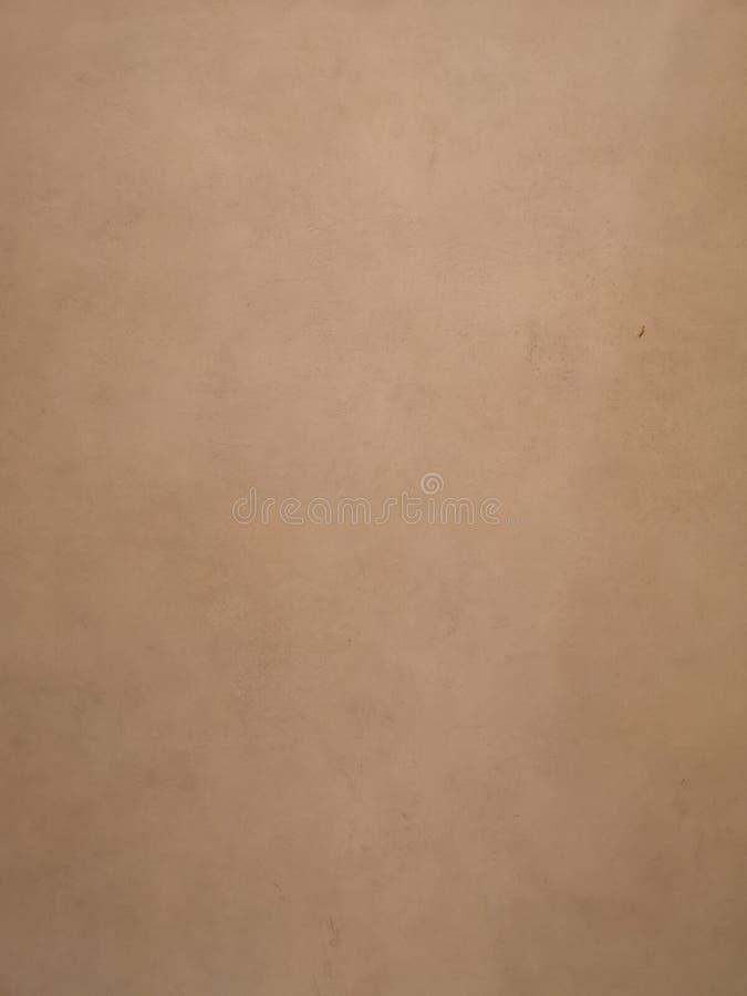 Brown koloru farba na cement ściany powierzchni tekstury materiału betonie obraz stock