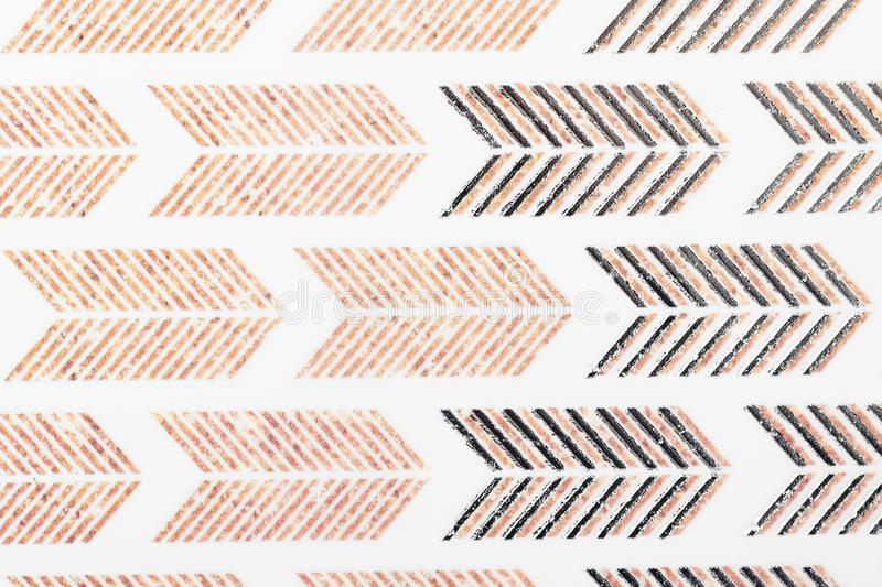 Brown kraft motif design white lines pattern paper for textile wallpaper pattern fills covers surface print gift wrap scarf on stock images