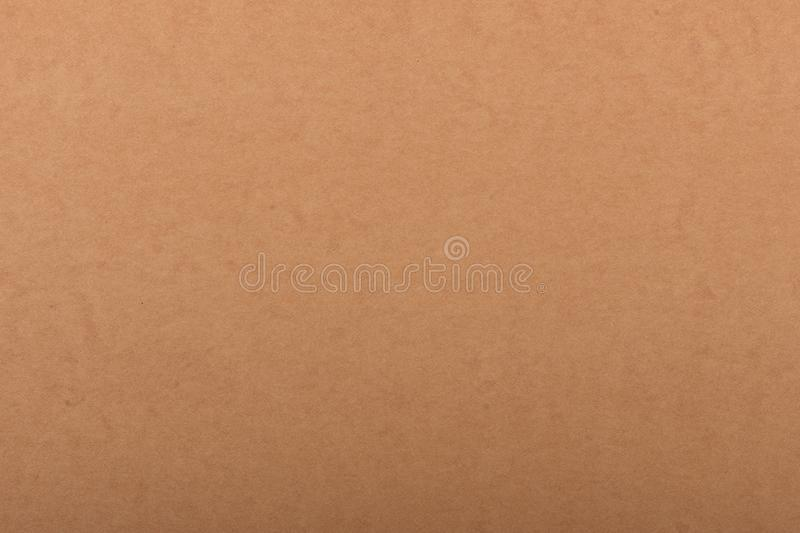 Old Paper Texture - Brown kraft sheet background. stock image