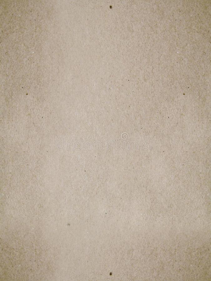 Brown Kraft surface, seamless texture stock image