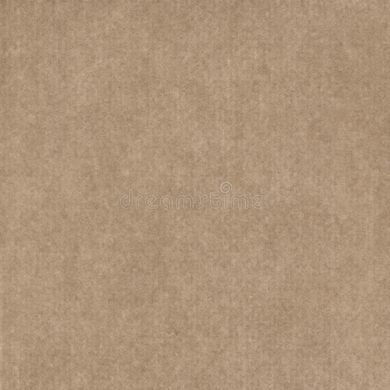 Brown-Kraftpapier stockfoto