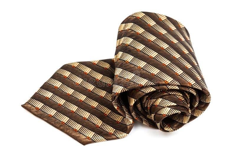 Download Brown krawat obraz stock. Obraz złożonej z jedwab, human - 28971997