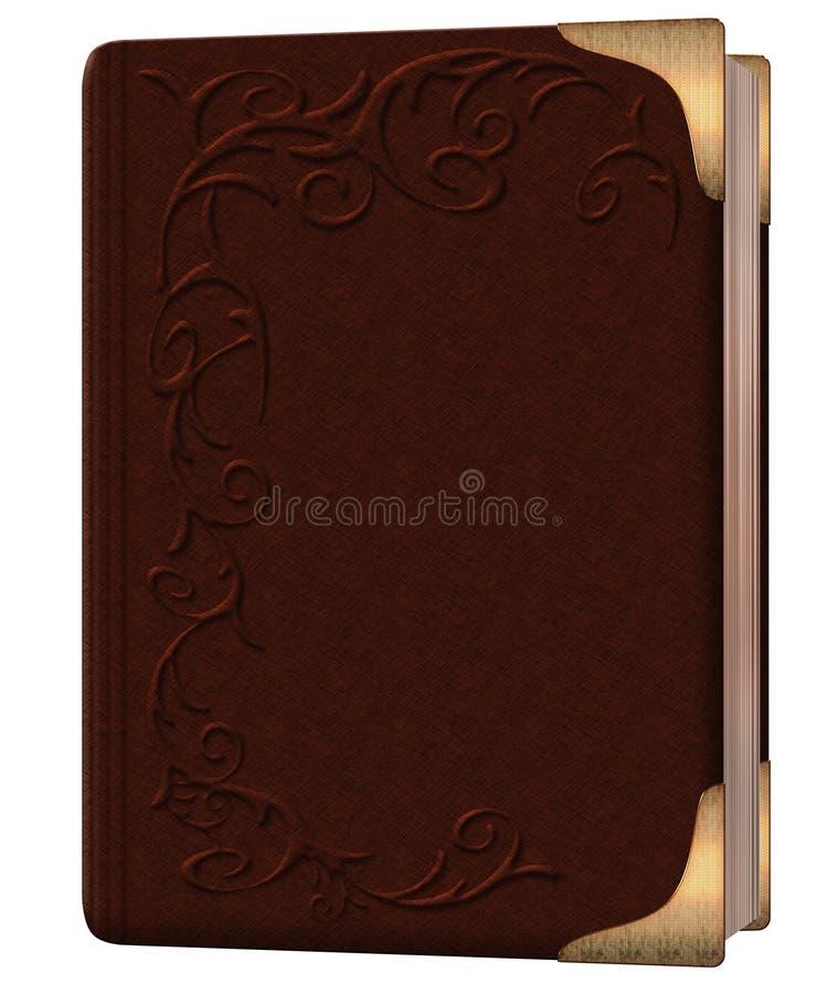 Brown książka ilustracja wektor