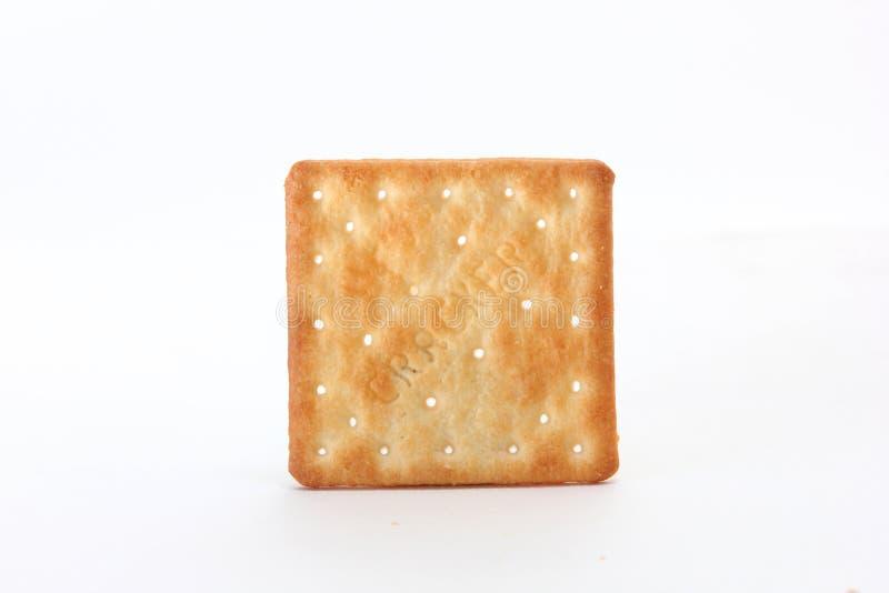 Brown kwadrata krakers zdjęcia royalty free