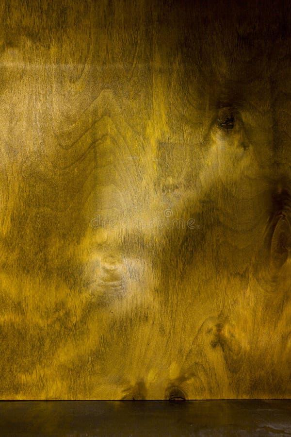 Brown lavó la textura de madera imagen de archivo libre de regalías