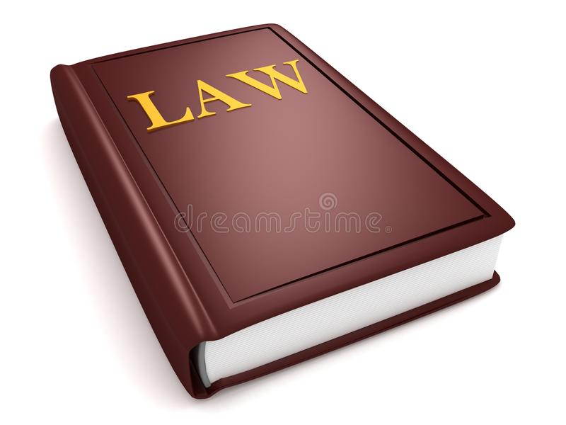 Download Brown law book stock illustration. Image of dimensional - 22031997