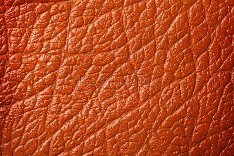Brown Leather. Texture for background, detailed surface macro shot stock photos