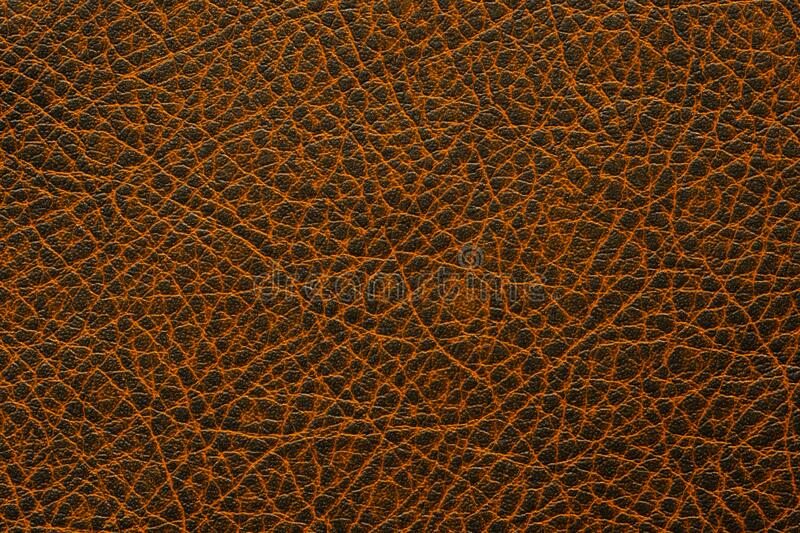 Brown leather background or texture. High resolution photo. stock photos