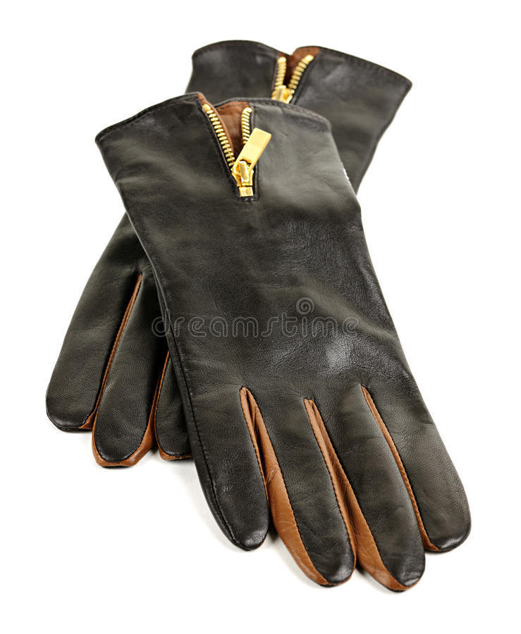 Download Brown leather gloves stock image. Image of stylish, fashionable - 21747947