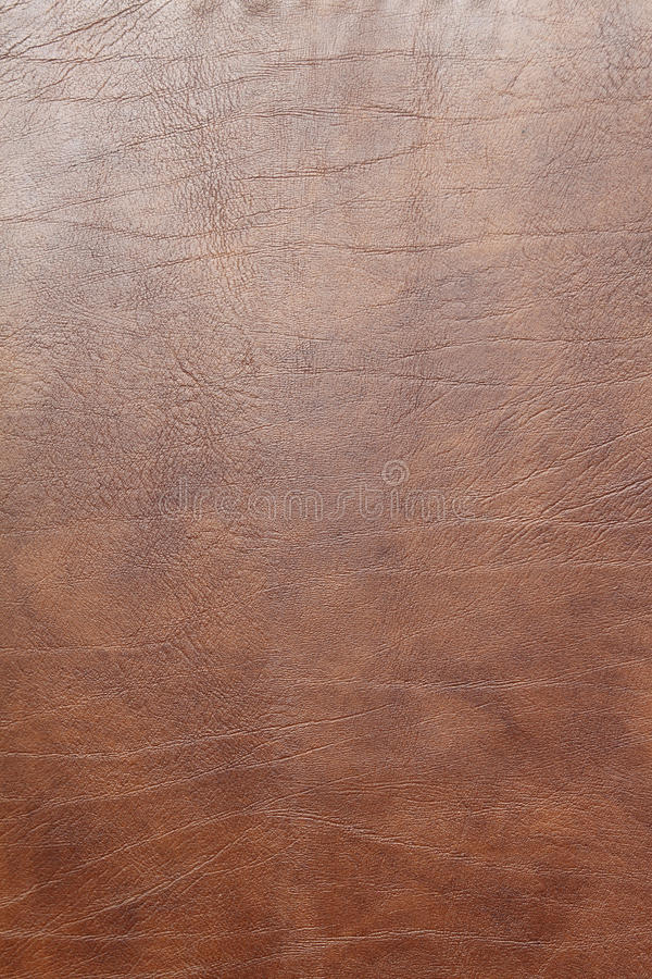 Brown leather texture. Covering background royalty free stock photo