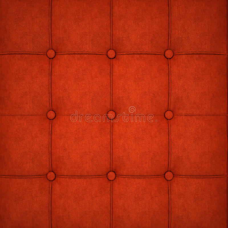 Brown leather texture. For sofa stock photography