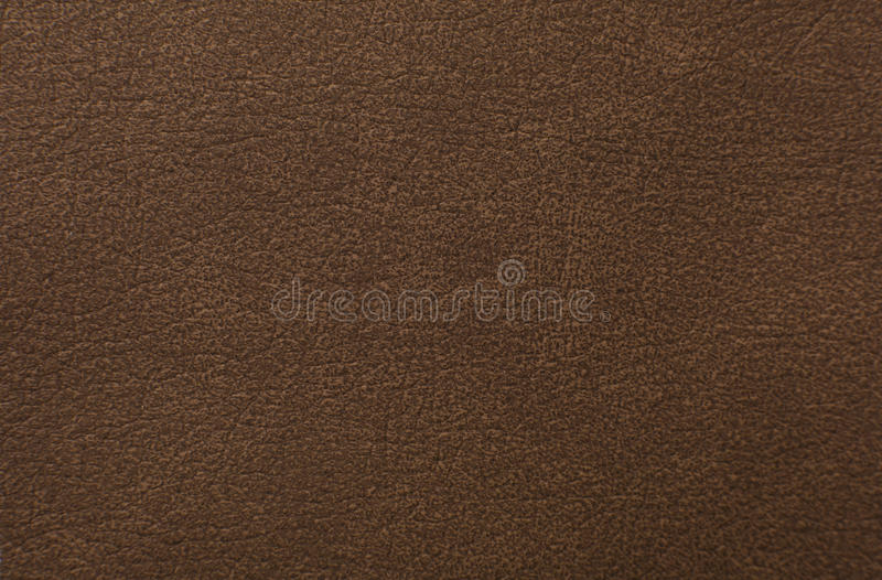 Brown leather texture as background royalty free stock photography
