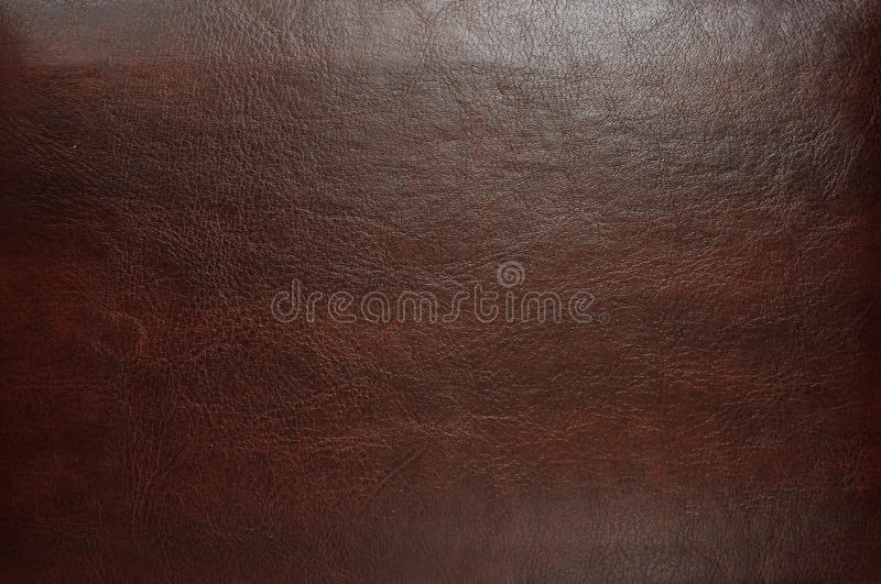 Brown leather texture royalty free stock image