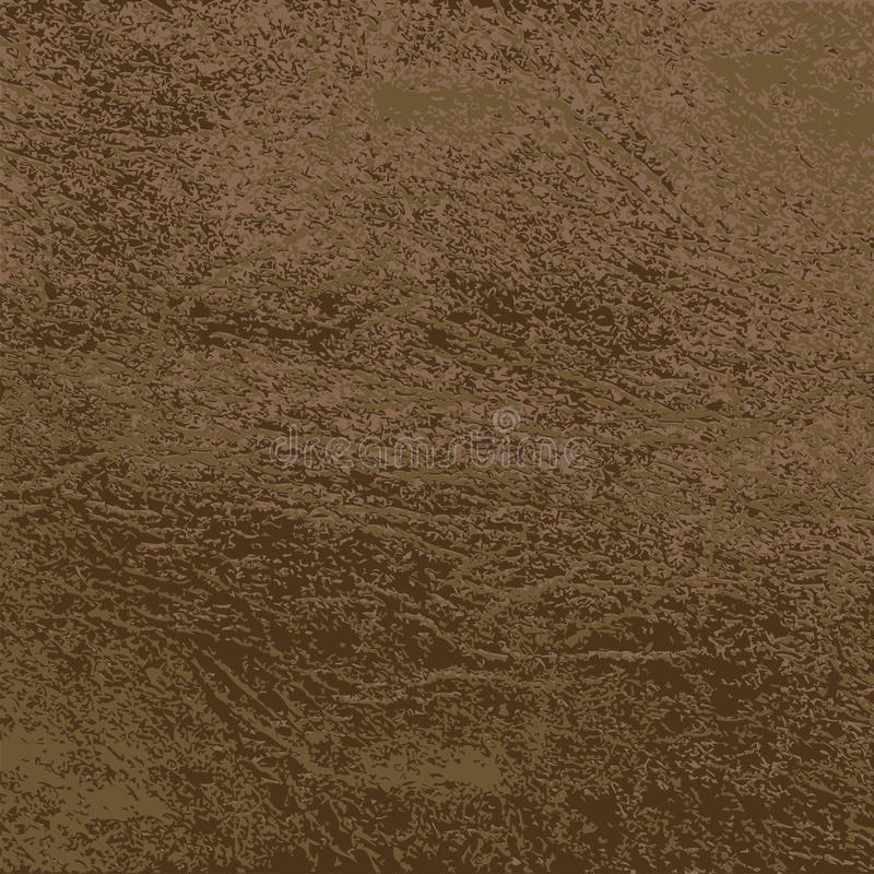 Brown Leather Texture. Background stock illustration