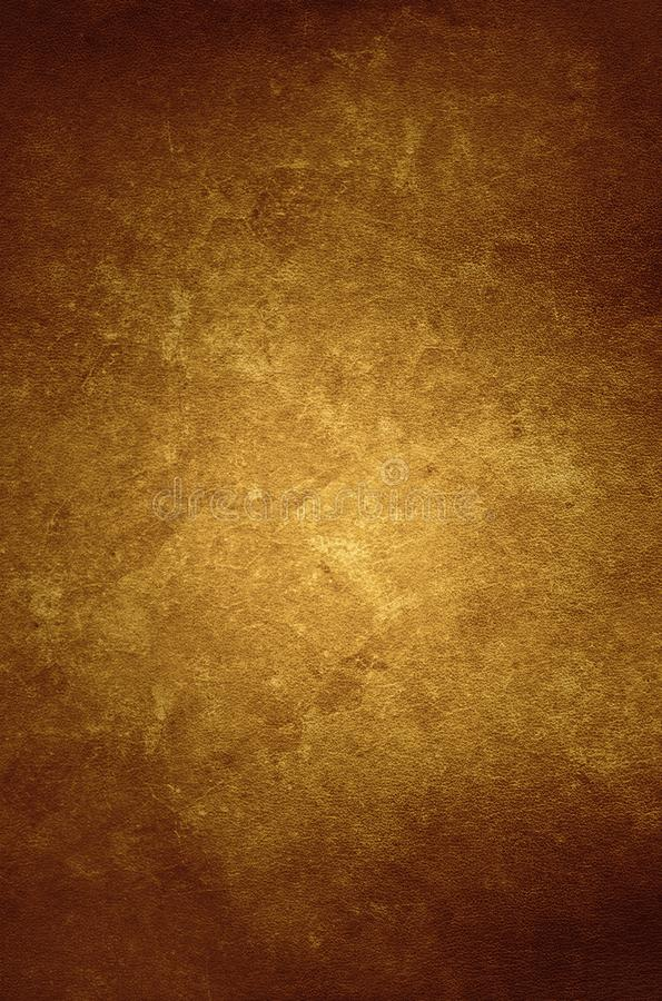Brown leather texture background - graphic design element royalty free stock photo