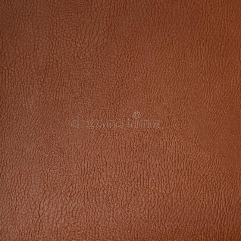 Brown leather texture royalty free stock photography