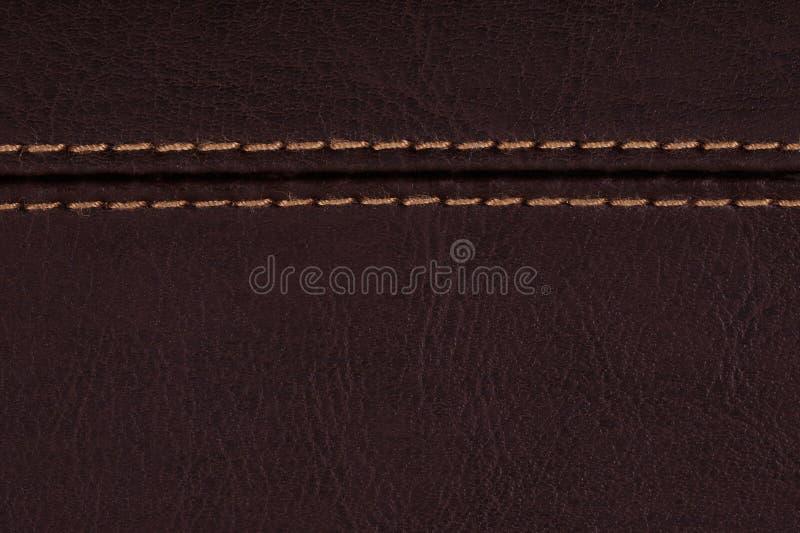 Brown-Leder, ein Hintergrund lizenzfreie stockfotografie