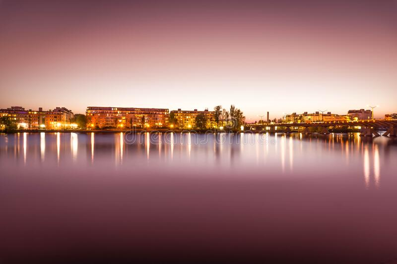 Brown Lighted Buildings Near The Body Of Water Landscape Photo Free Public Domain Cc0 Image