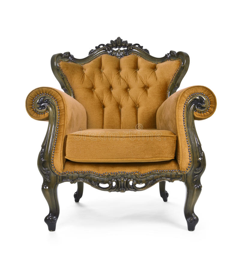 Download Brown Luxurious armchair stock photo. Image of antique - 27361540
