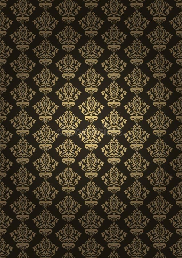 Download Brown luxury background stock vector. Image of empty - 25359411