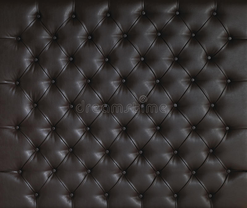 Download BROWN LUXURY PADDED STUDDED LEATHER BACKGROUND Stock Photo - Image: 30356552