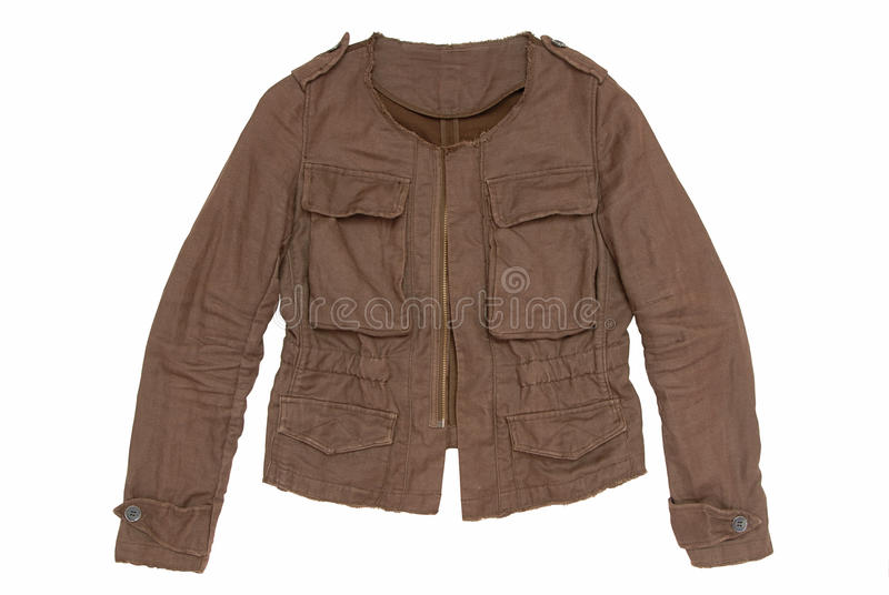 Brown Male Jacket Stock Photos