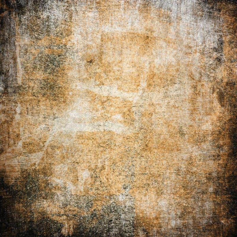 Brown manchó y textura granulosa foto de archivo libre de regalías
