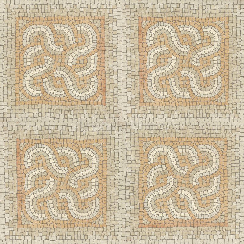 Brown marble-stone mosaic texture. stock images