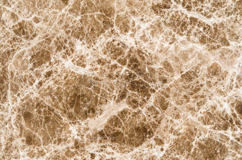 Brown marmorizza il fondo di struttura, struttura naturale astratta per il de fotografia stock libera da diritti