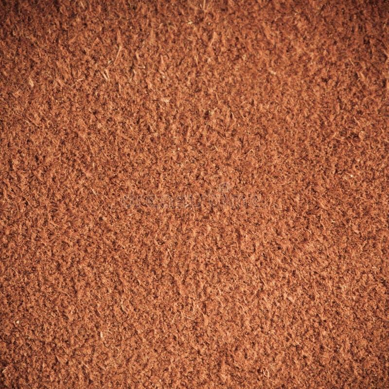 Brown maserte lederne Hautschmutz-Hintergrundnahaufnahme lizenzfreies stockfoto