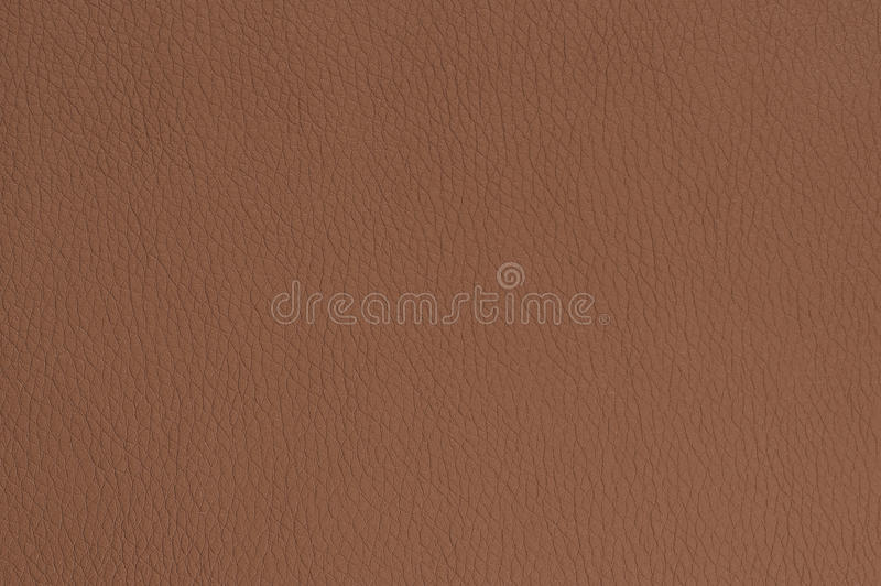 Brown Matte Patterned Faux Leather Texture fotografie stock