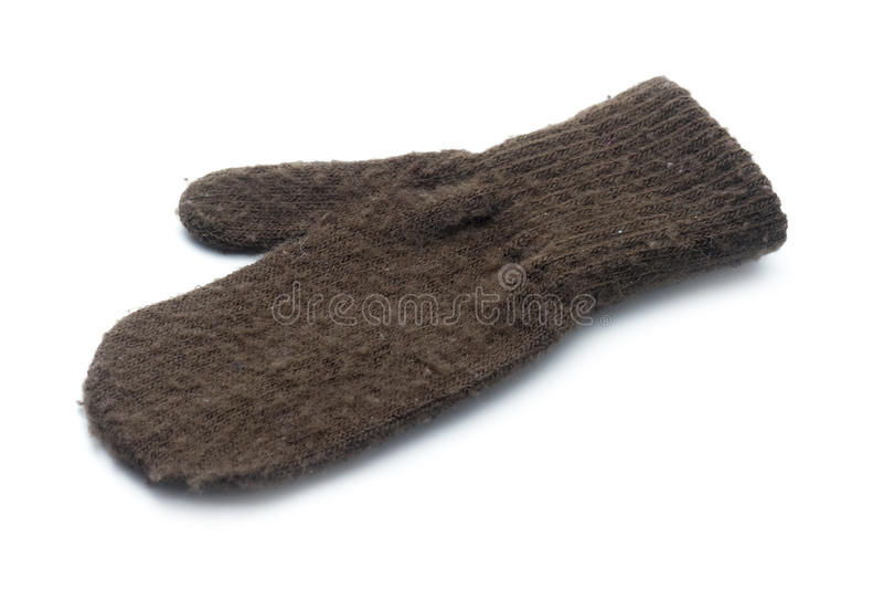 Download Brown mitten stock photo. Image of preschool, color, accessory - 28921928