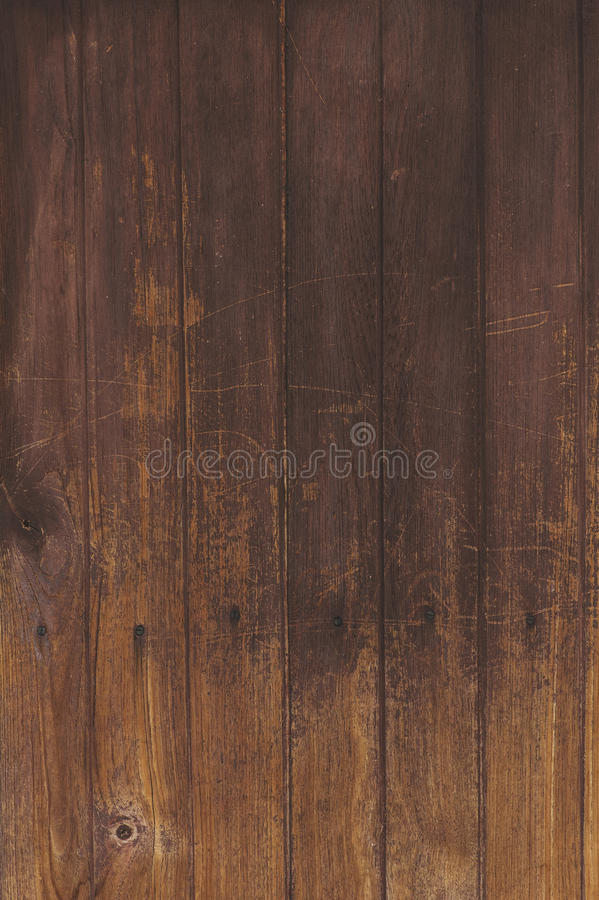 Brown natural wood wall texture and background seamless stock images