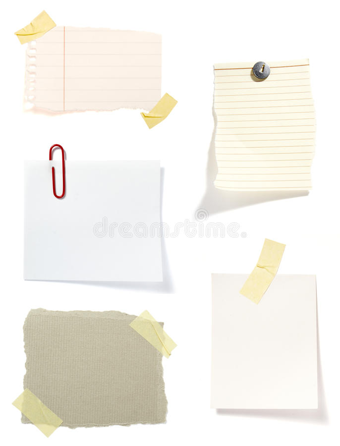 Free Brown Old Paper Note Background Stock Image - 12687261